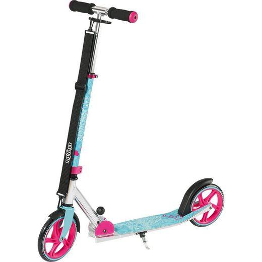 myToys Scooter 205 mit Tragegurt, Design Eule