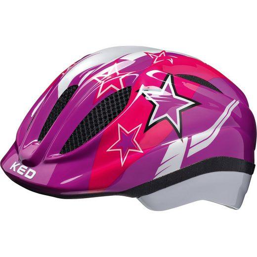 KED Helmsysteme Fahrradhelm Meggy Sterne, lila