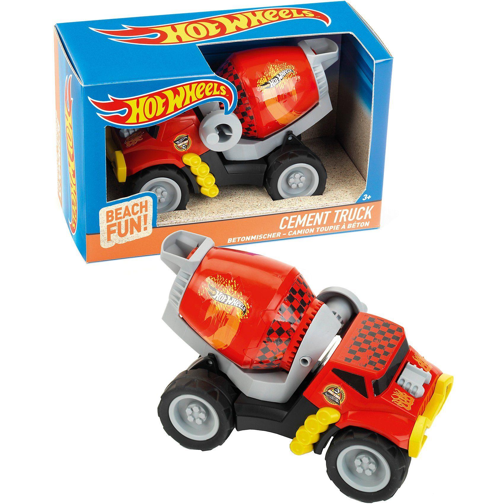 Klein Hot Wheels Betonmischer, Sandspielzeug, Maßstab 1:24