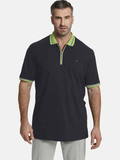 Charles Colby Poloshirt »EARL PAT« luftiges Baumwoll-Pikee