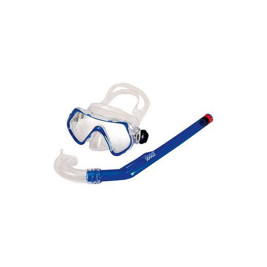 Zoggs Schnorchelset Reef Explorer Jr., blau