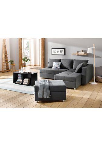 HOME AFFAIRE Kampinė sofa »Italia«
