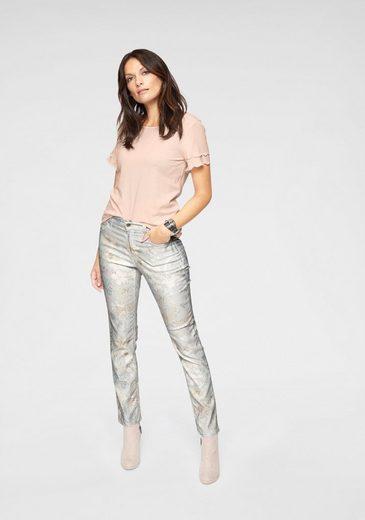 Angels Form Knöchellanger Ankle jeans Auf Druck Eleganter »cici Bedruckt« rqrp8PwxS