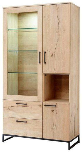 Quadrato Vitrine »Niagara« klassisches Wohndesign und modernes Ambiente vereint in einer Komposition
