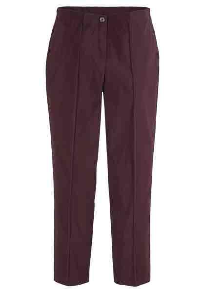 GMK Curvy Collection Stretch-Hose mit Gürtelschlaufen und Bügelfalten