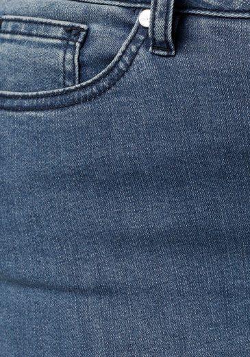 Mit Fransen jeans Bootcut Gmk Collection Curvy CtIqXwX