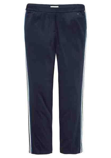 GMK Curvy Collection Jogger Pants mit modischem Streifenband an der Seitennaht