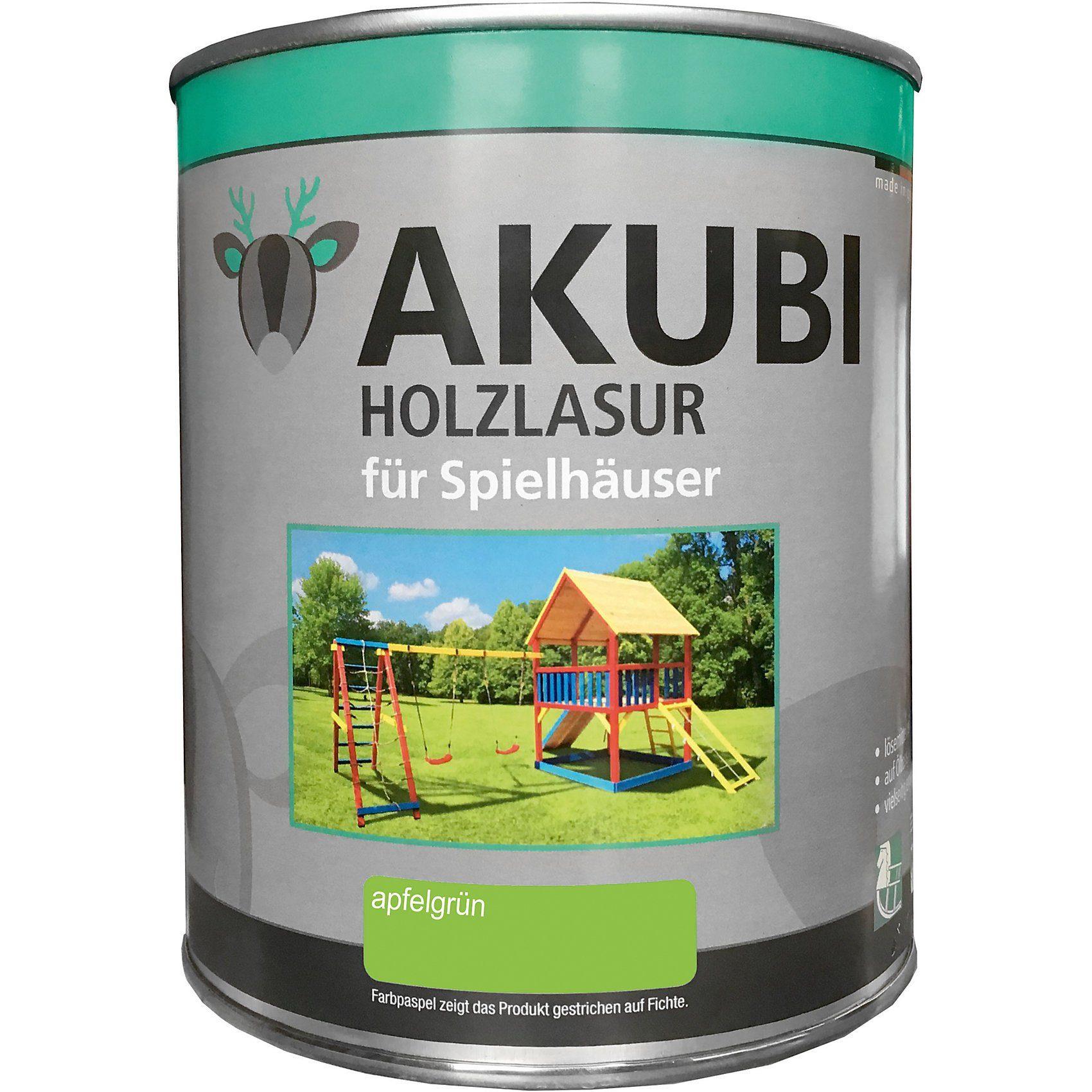 Karibu Holzlasur-Set Apfelgrün 750 ml