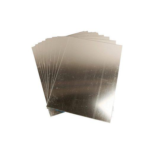 Spiegelfolie, Blatt 29,5x21 cm, Stärke: 1,1 mm, 10 Bl.