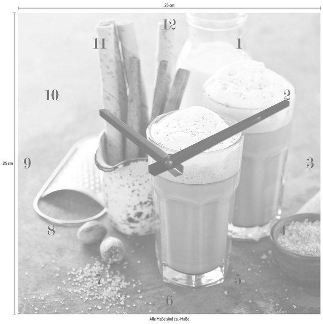 Wanduhr »Cappuccino« | Dekoration > Uhren > Wanduhren | Glas | OTTO