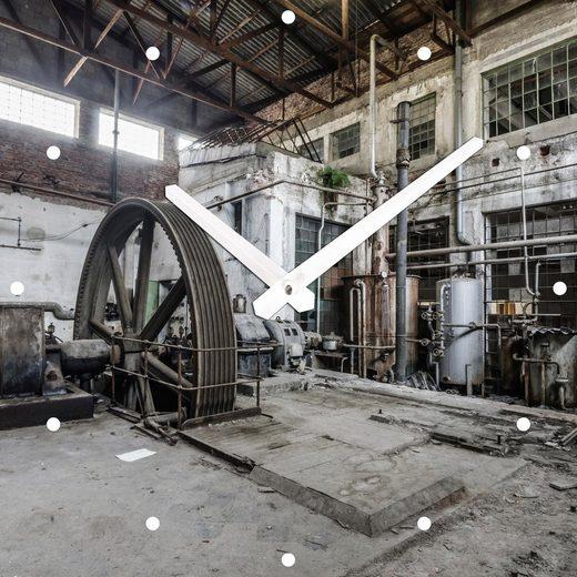 Wanduhr »Fabrik« 30/30 cm