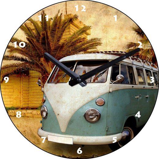 Wanduhr »Bus«