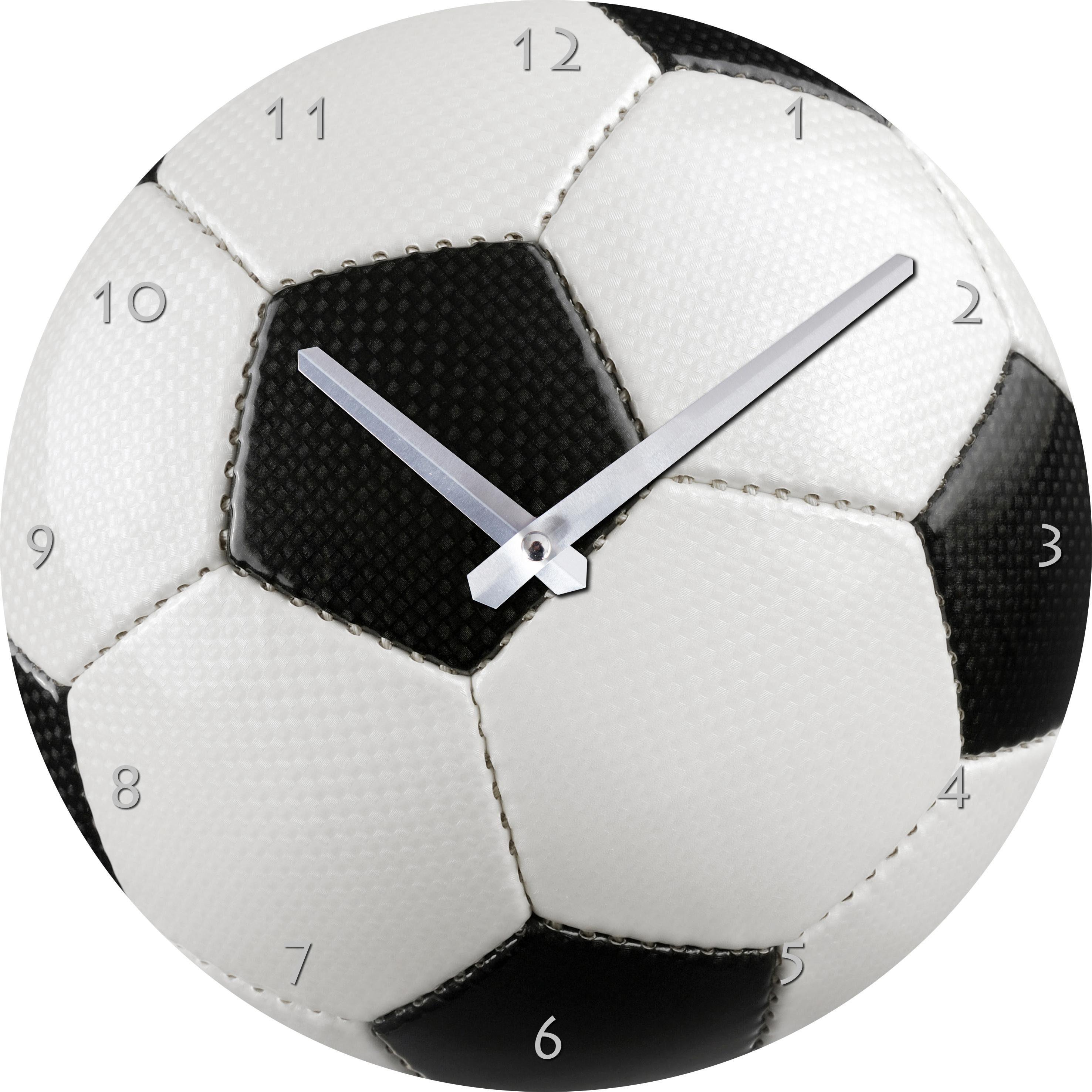 Wanduhr »Fußball« Ø 25 cm