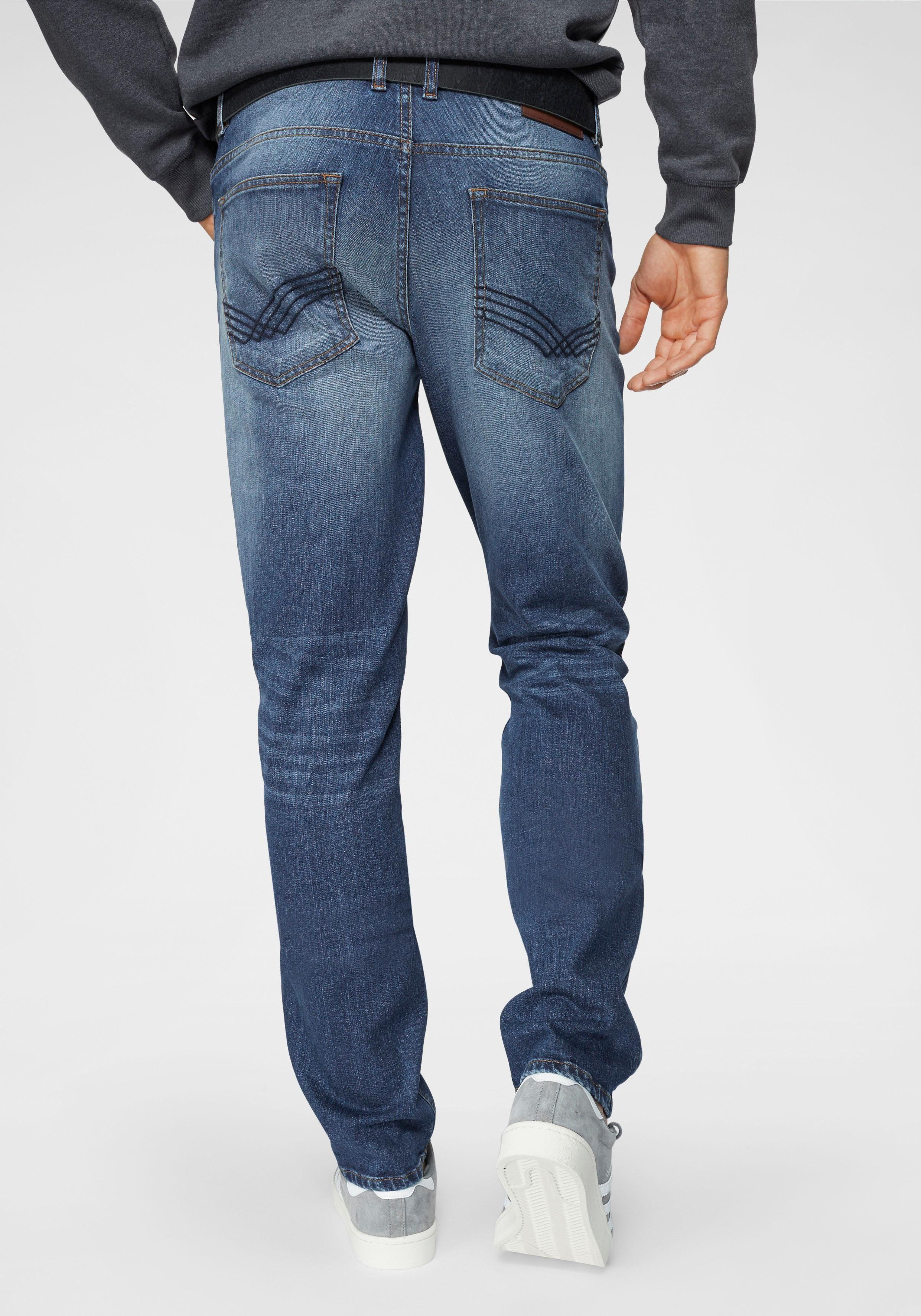 TOM TAILOR Slim fit Jeans »JOSH SLIM JEANS« im 5 Pocket Style online kaufen | OTTO