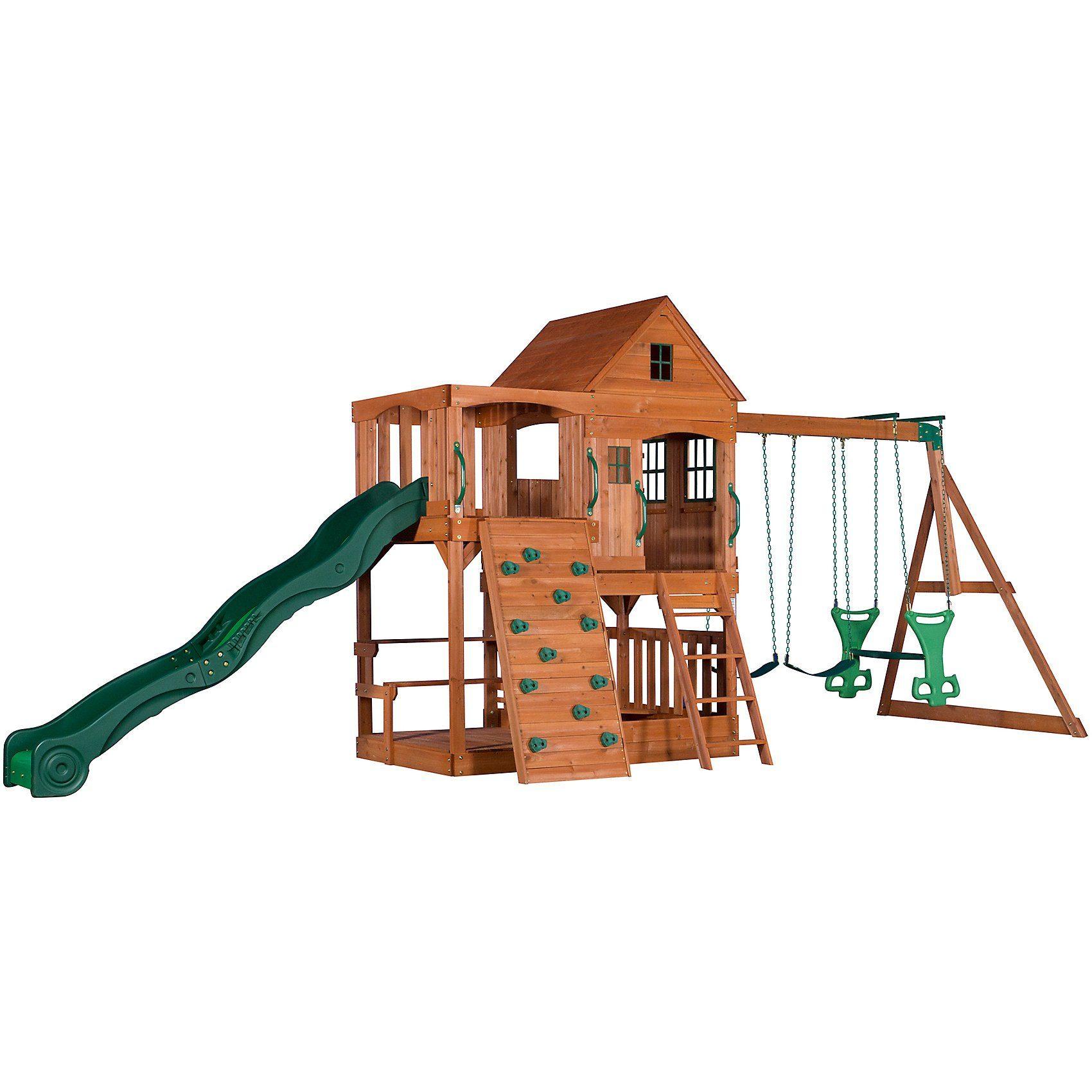Hill Crest Spielturm (inkl. Schaukeln)