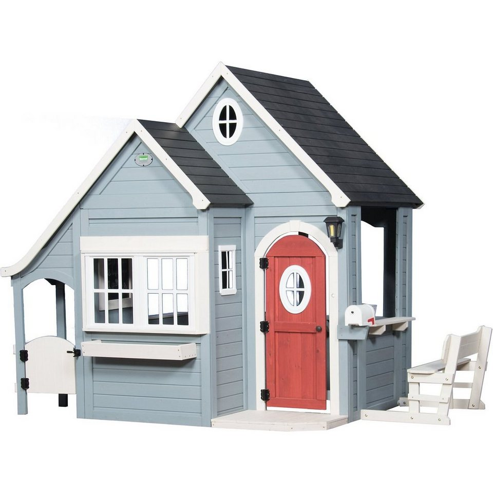 spring cottage spielhaus altersempfehlung ab 3 jahren online kaufen otto. Black Bedroom Furniture Sets. Home Design Ideas