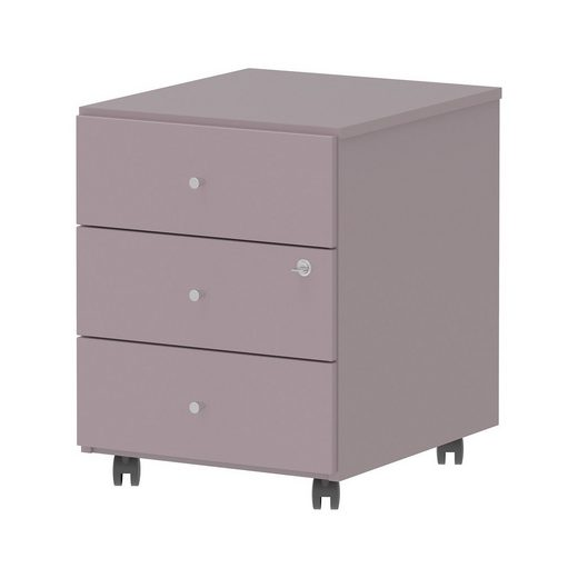 Wellemöbel Rollcontainer Grow Up, lilac grey