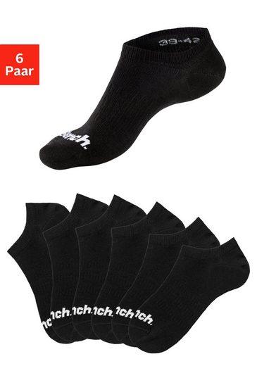 Bench. Sneakersocken (6-Paar) verschwinden im Schuh