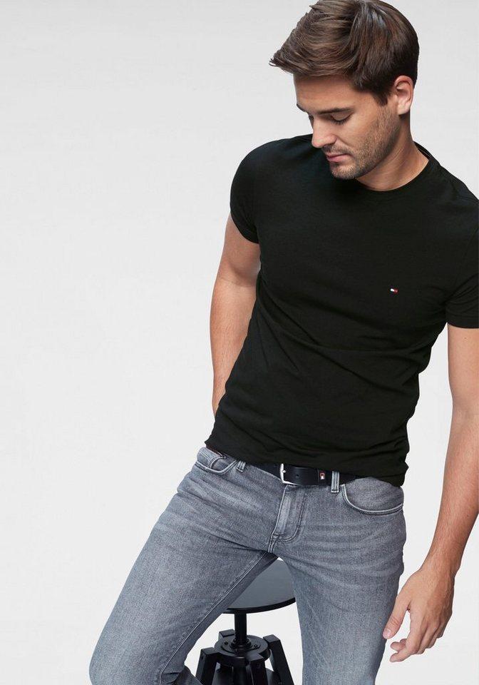 c4253dbacd337 TOMMY HILFIGER T-Shirt »CORE STRETCH SLIM CNECK TEE« online kaufen ...