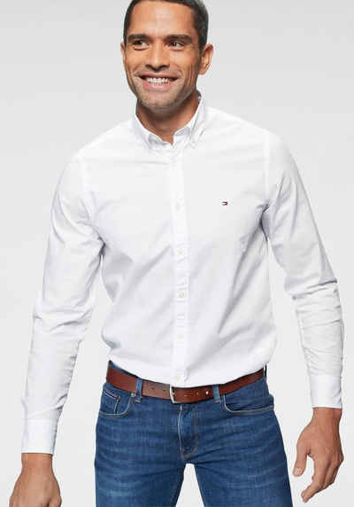 Tommy Hilfiger Hemd »CORE STRETCH SLIM POPLIN SHIRT« 461d373413d