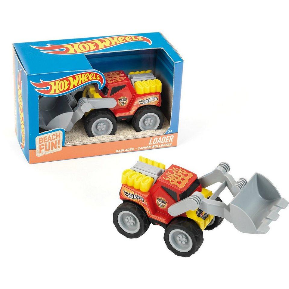 klein hot wheels radlader sandspielzeug ma stab 1 24. Black Bedroom Furniture Sets. Home Design Ideas