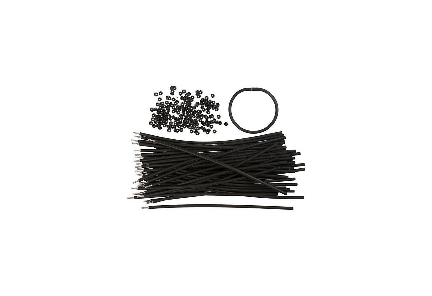 Armbänder - Sortiment, L 20 cm, Stärke: 4 mm, 48 Sets, Schwa