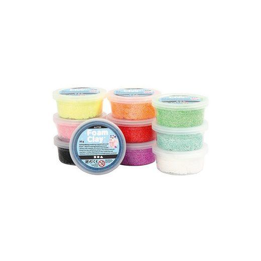 Foam Clay® - Sortiment, 10x35 g, Sortierte Farben