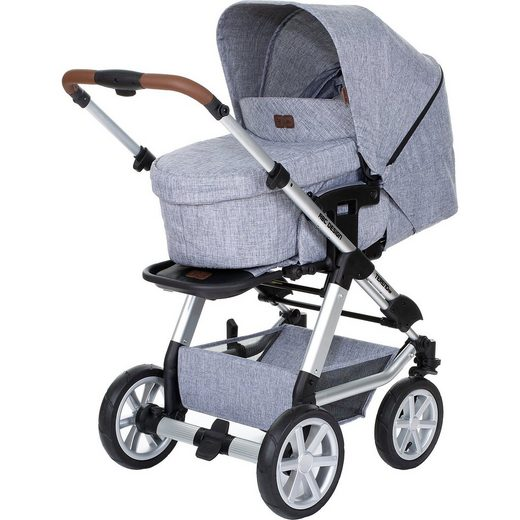 ABC Design Kombi Kinderwagen Tereno Air, graphite grey