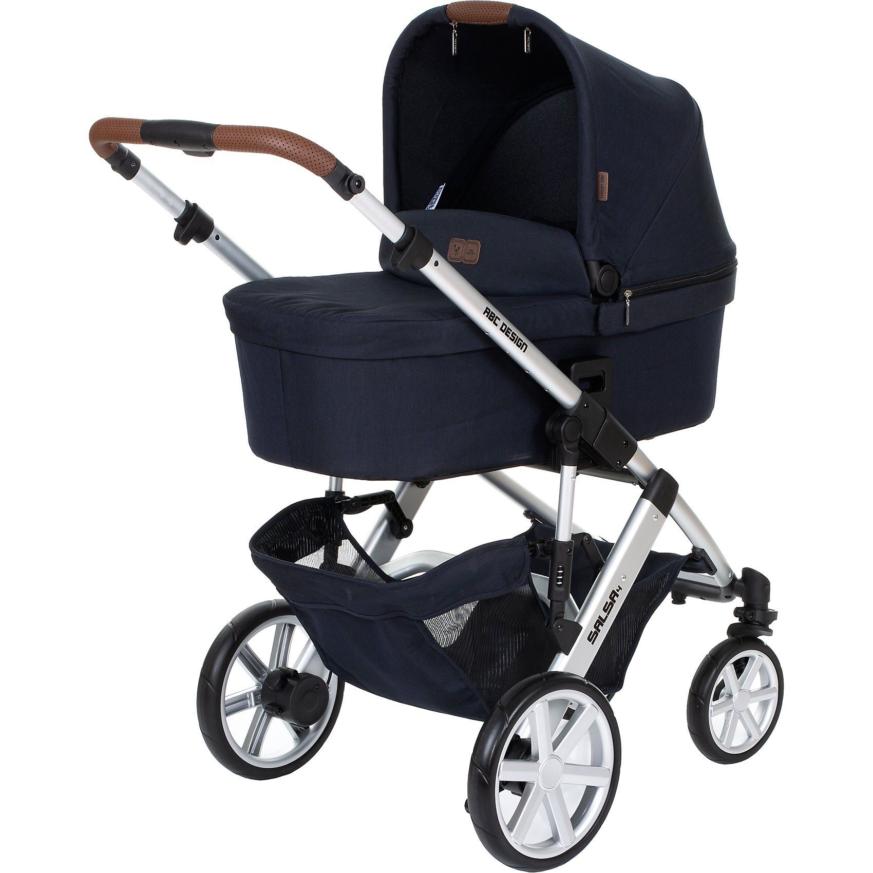 ABC Design Kombi Kinderwagen Salsa 4, shadow, 2019