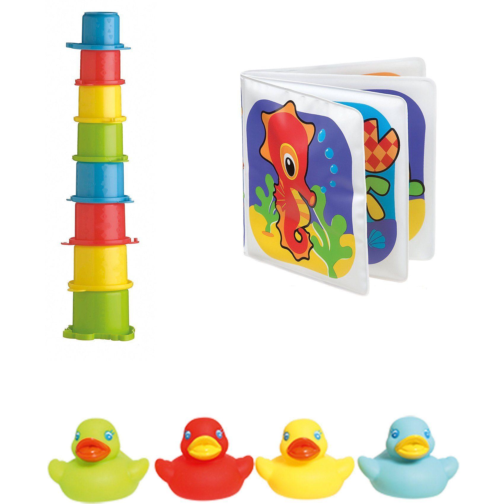 Playgro Badespielzeug-Set 3-teilig