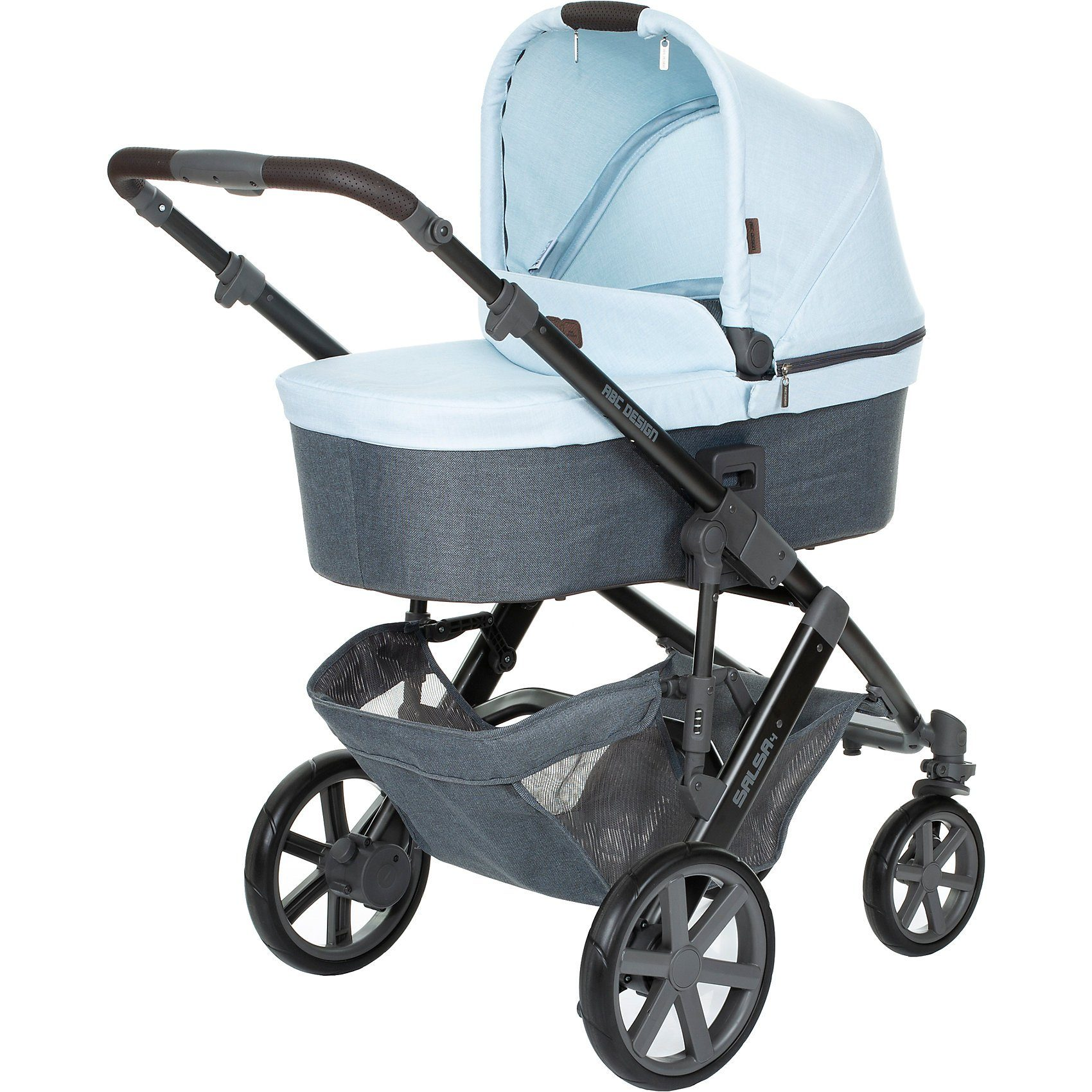 ABC Design Kombi Kinderwagen Salsa 4, ice, 2019
