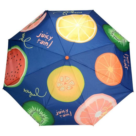 Desigual Umbrella Fruits Taschenschirm 28 cm