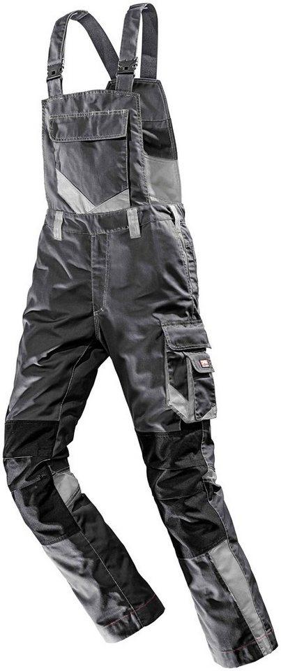 b0a3496218e7 BULLSTAR Latzhose »WorXtar«, Arbeitshose, schwarz/grau, Gr. 42 - 74 online  kaufen | OTTO