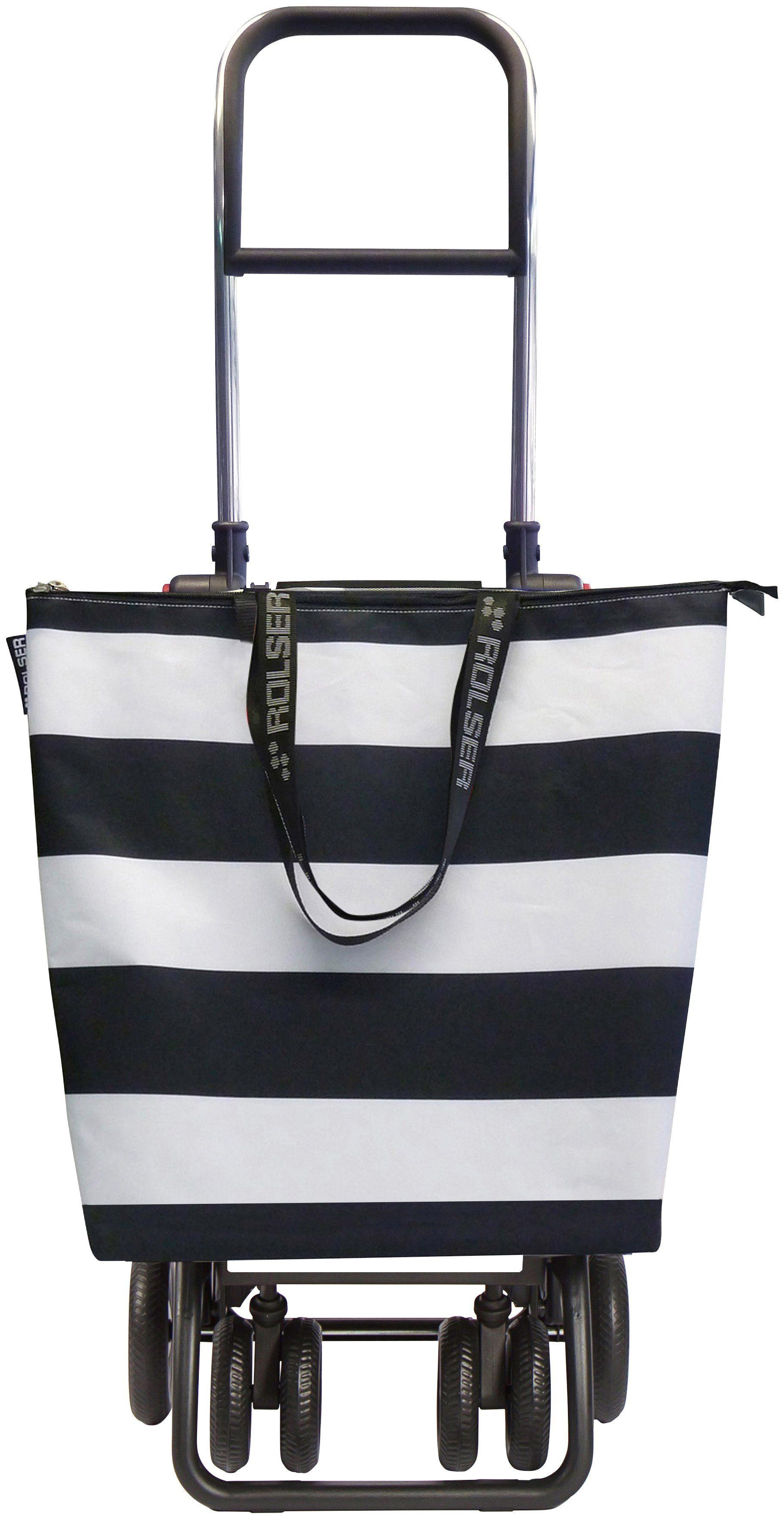 ROLSER Einkaufstrolley »Logic Tour Mini Bag Lido«, mit 6 Rädern, zuzammenplappbar