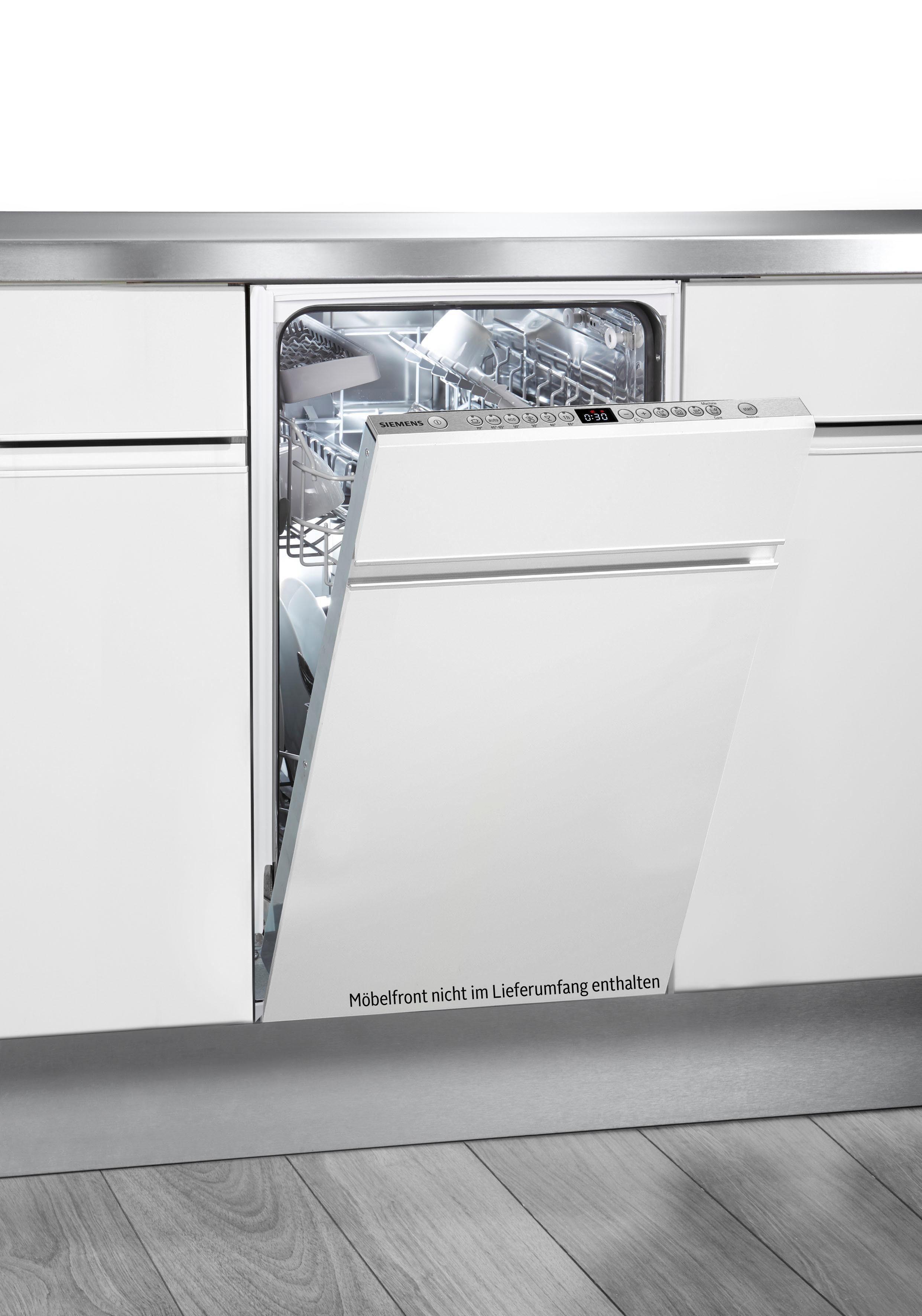 SIEMENS vollintegrierbarer Geschirrspüler iQ300, SR736D08IE, 8,5 l, 9 Maßgedecke