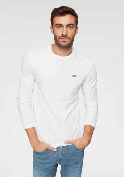 Levi's® Langarmshirt mit Logo-Applikation