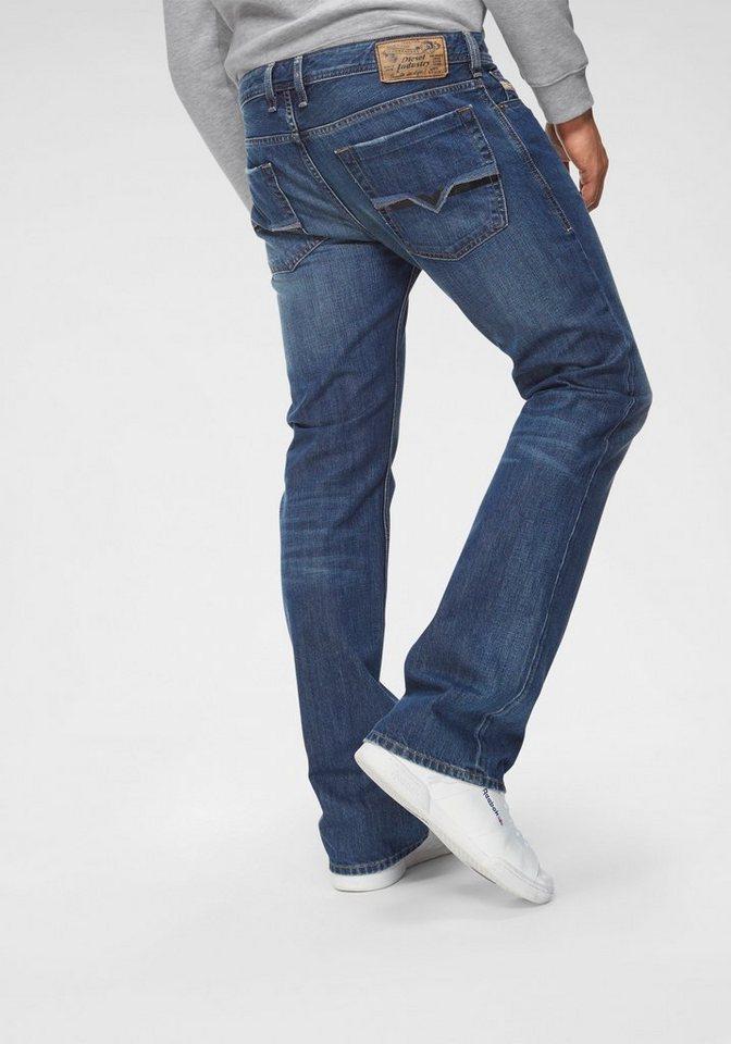 Diesel Bootcut-Jeans »ZATINY« | Bekleidung > Jeans > Bootcut Jeans | Blau | Denim | Diesel
