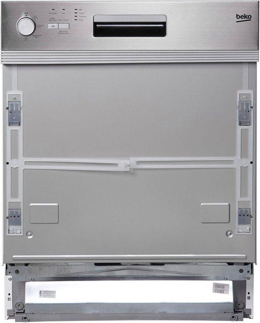 Küchengroßgeräte - BEKO integrierbarer Geschirrspüler, DSN04310X, 11,5 l, 13 Maßgedecke  - Onlineshop OTTO