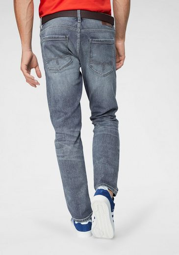 s.Oliver Slim-fit-Jeans (2-tlg., mit Gürtel)