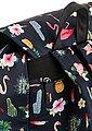 KangaROOS Cityrucksack, mit praktischem Reißverschluss-Rückfach und Flamingo Druck, Bild 4