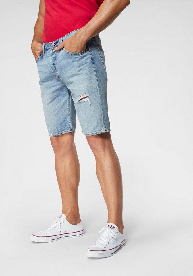 Herren Levi´s® Levi s® Jeansshorts 501® blau | 05400816153436