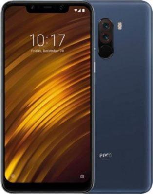 Pocophone F1 Dual Sim Smartphone (15,7 cm/6,1 Zoll, 64 GB Speicherplatz, 12 MP Kamera)