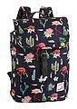 KangaROOS Cityrucksack, mit praktischem Reißverschluss-Rückfach und Flamingo Druck, Bild 1