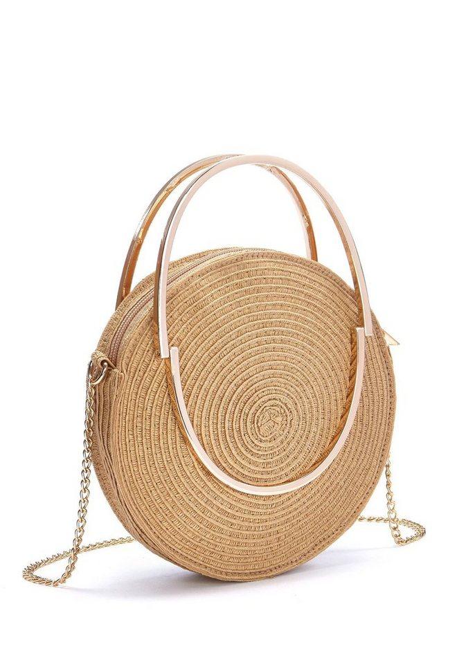 Damen LASCANA Runde Mini-Strandtasche  | 04897081250761