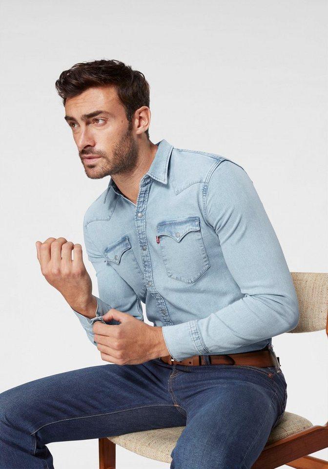 Levi´s® Jeanshemd »BARSTOW WESTERN« | Bekleidung > Hemden > Jeanshemden | Blau | Levi´s®
