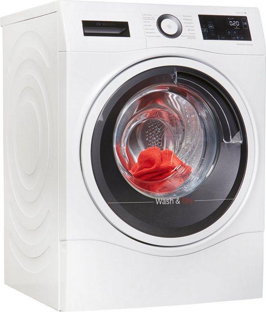 BOSCH Waschtrockner Serie 6 WDU28540, 9 kg/6 kg, 1400 U/Min