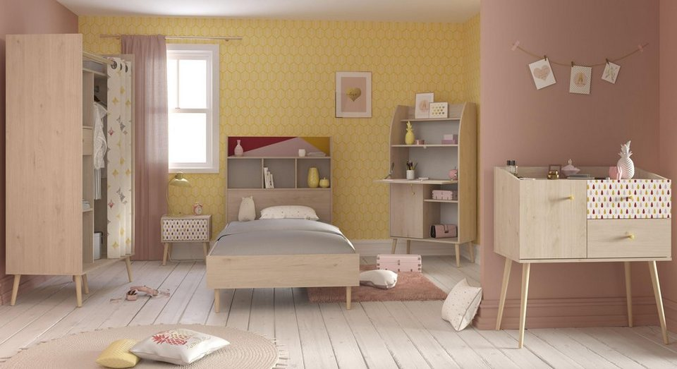 parisot jugendzimmer set anna 5 tlg kaufen otto. Black Bedroom Furniture Sets. Home Design Ideas
