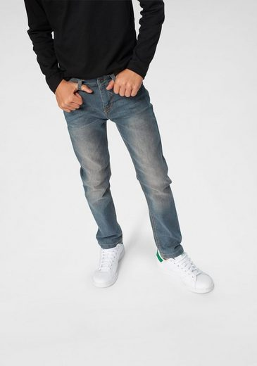 Arizona Stretch-Jeans, regular fit mit schmalem Bein