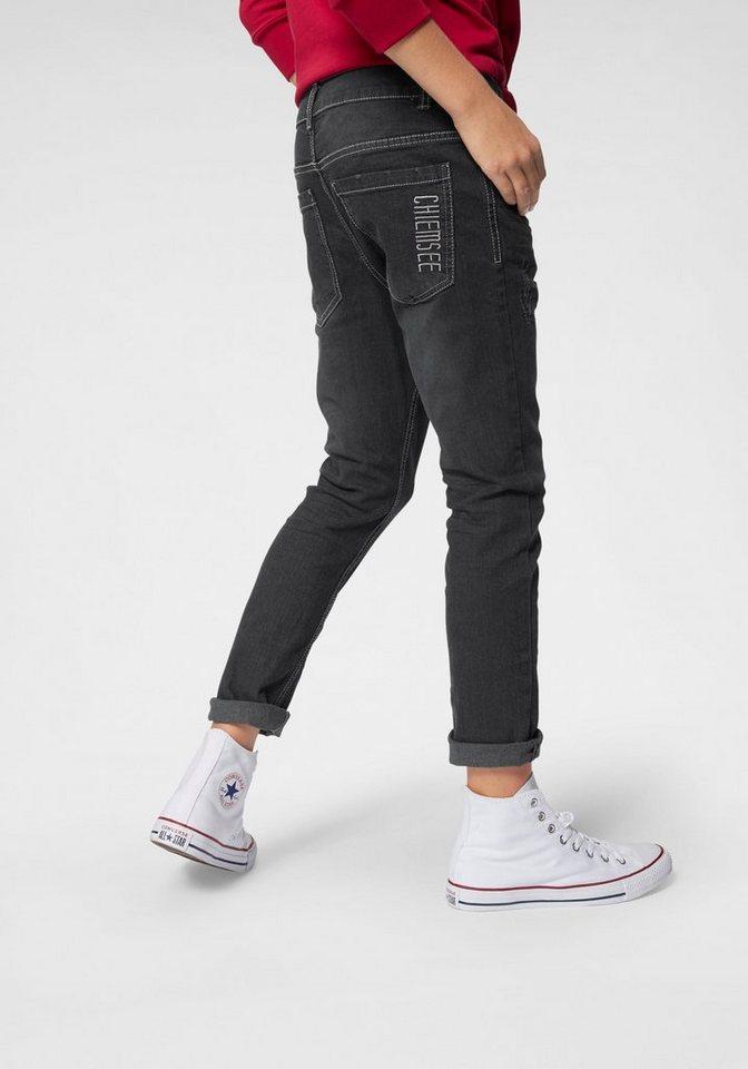 3d7b65f462 Chiemsee Stretch-Jeans, regular fit mit schmalem Bein in klassischer 5  Pocket-Form