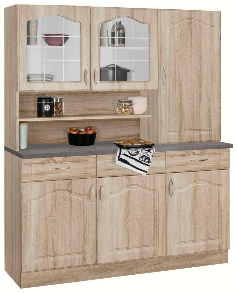 wiho k chen k chenbuffet linz in landhaus optik breite 150 cm online kaufen otto. Black Bedroom Furniture Sets. Home Design Ideas